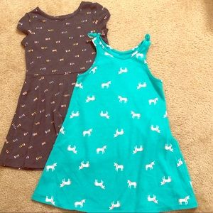 2pack cat and jack dresses
